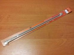 Ihlice rovné číslo 2,5 dĺžka 35  aluminiové